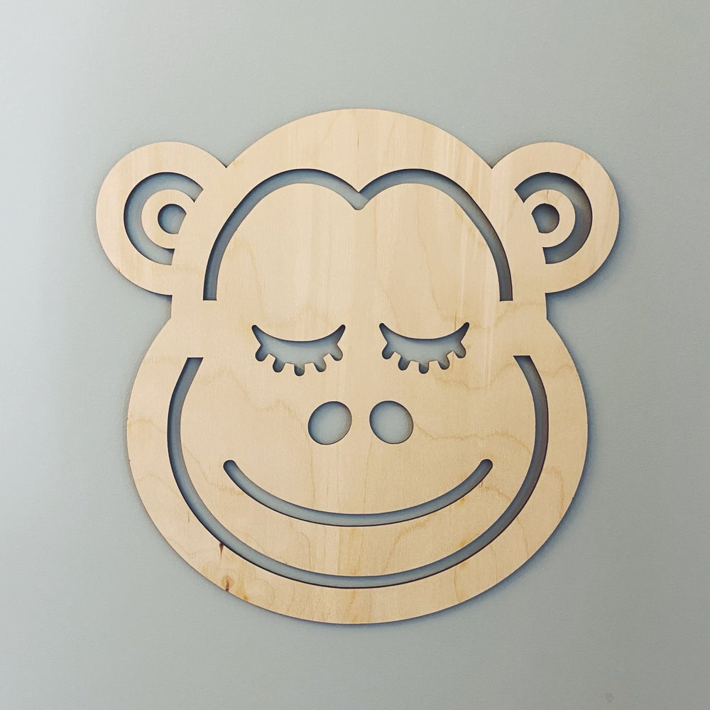 Image of Birch Animal Head Wall Hanging