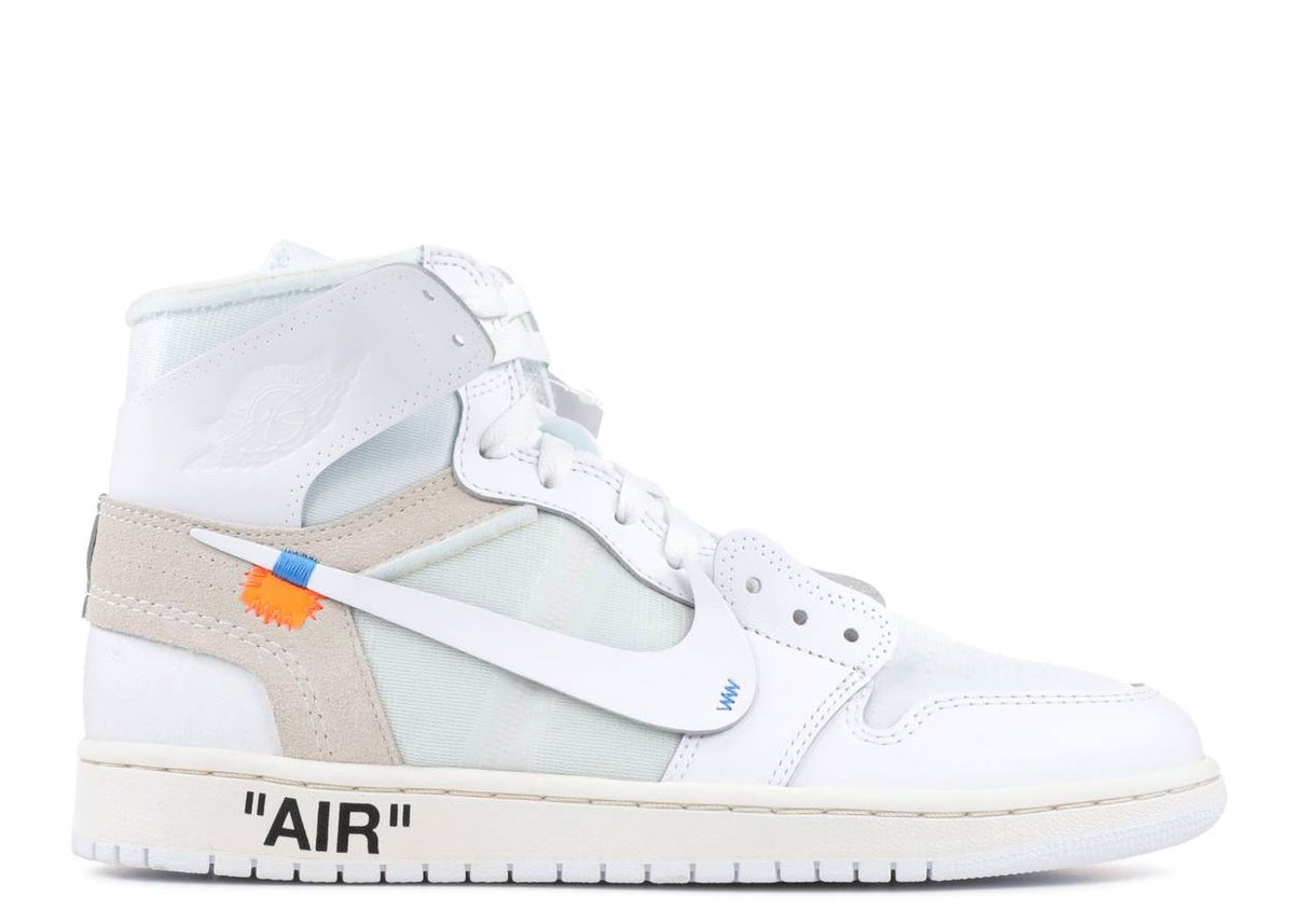 "Image of OFF-WHITE X AIR JORDAN 1 RETRO HIGH OG 2018 ""WHITE"""