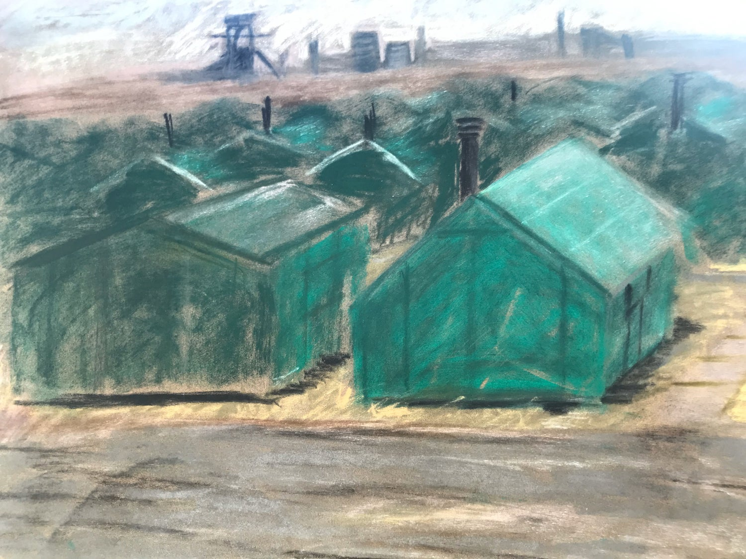 Image of Fisherman's huts, South Gare.