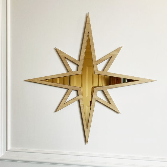 Image of Birch Star Mirror