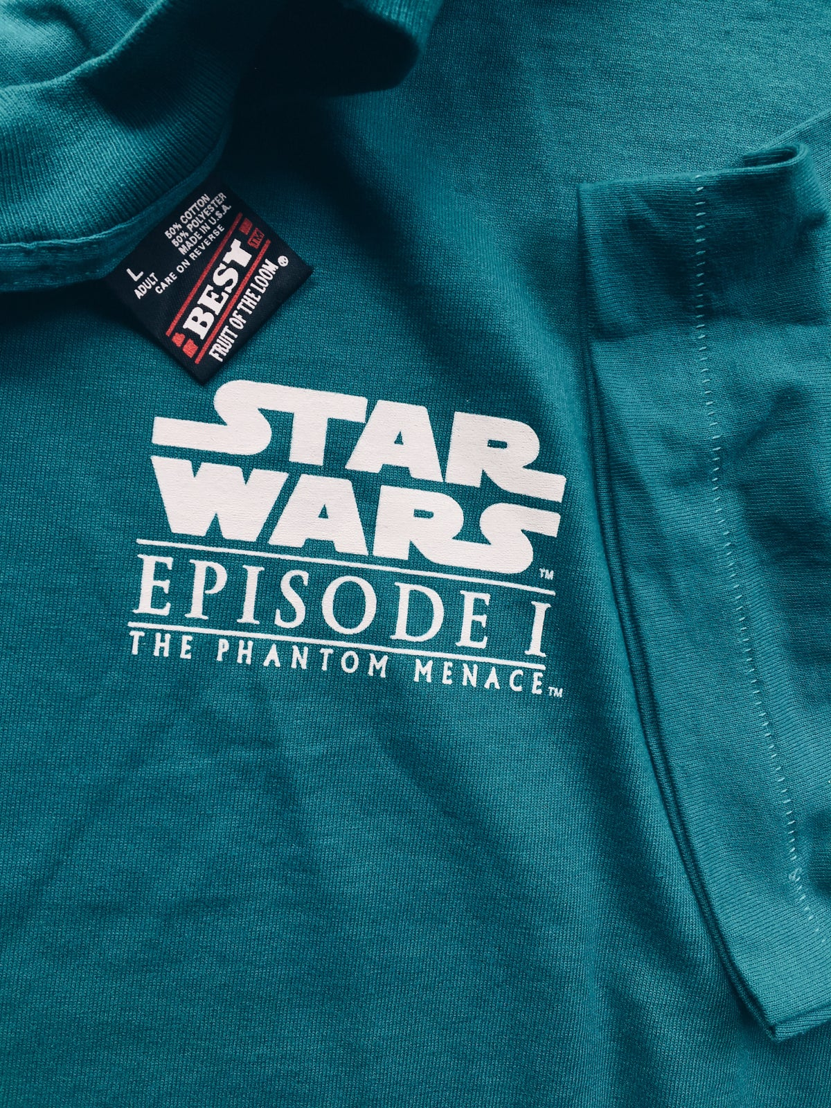 Image of Original 1999 KFC Star Wars Episode 1 Promo Tee.