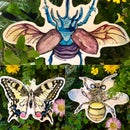 Image 1 of Insect Stickers 🦋 🐝 🐞