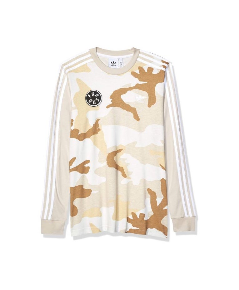 ALL DAY I DREAM ABOUT FRESNO | Long Sleeve T-shirt (Valley Camo)