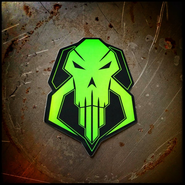 Image of Mandoformers holographic sticker