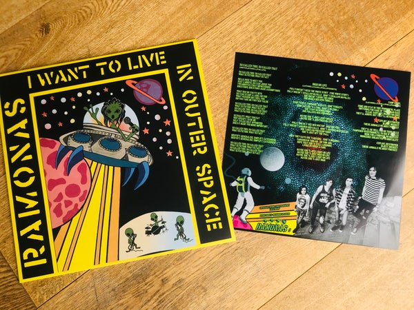 "Image of I Want To Live In Outer Space - 12"" Vinyl"