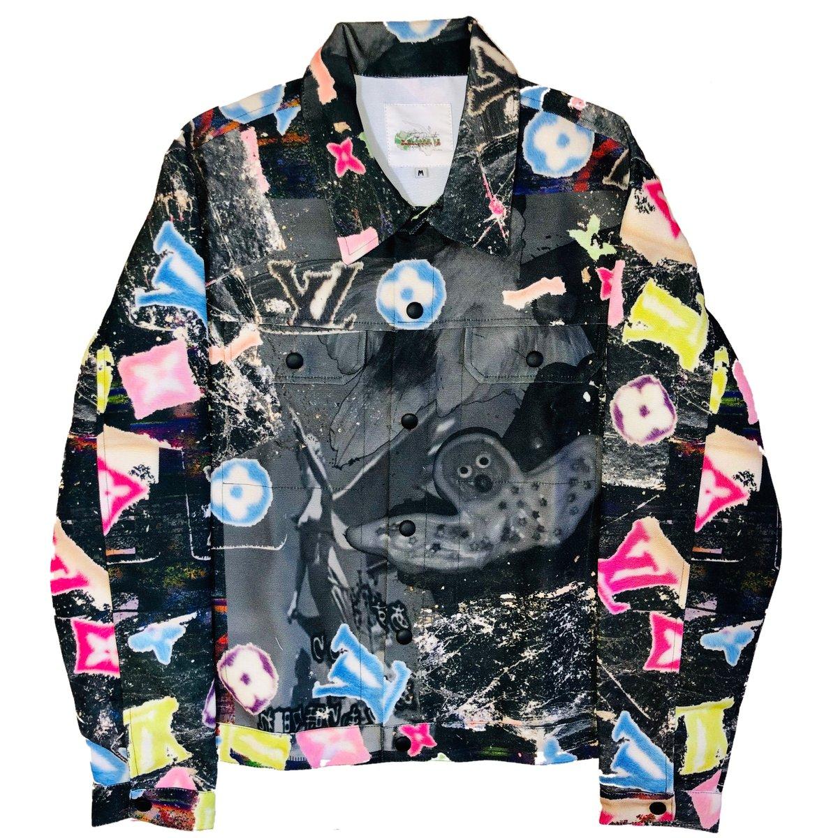 Image of Black Angel Hands Jacket