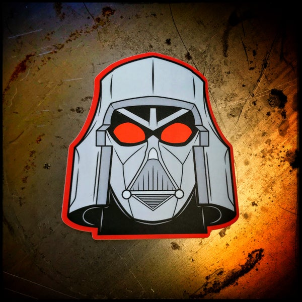 Image of Vadertron sticker