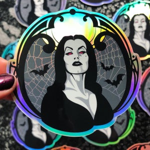 Image of VAMPIRA Holographic Vinyl Sticker