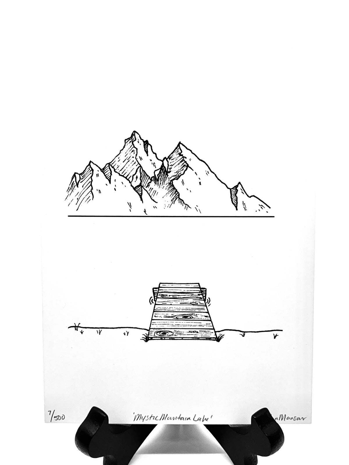 Image of Mystic Mountain Lake Print