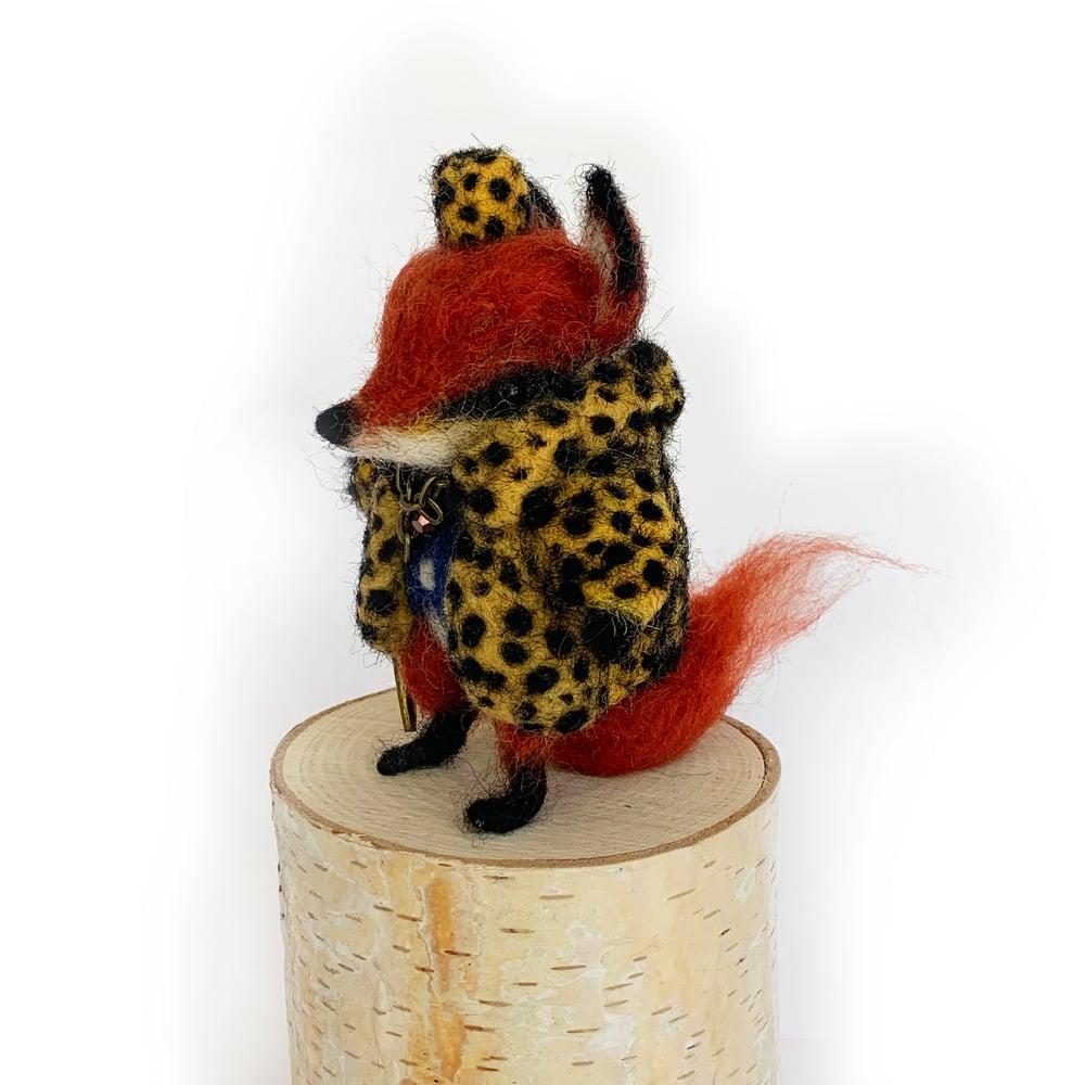 Image of Fox Pimp (Wool Sculpt)
