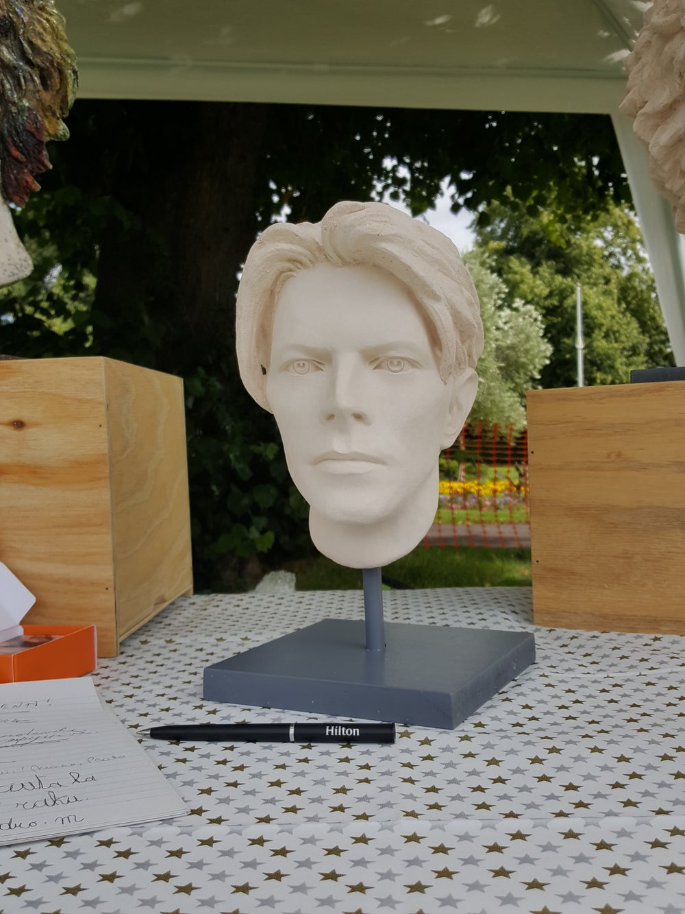 The Man Who Fell To Earth (Sculpture)
