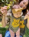 Keiki On A Mission Onesie & T-Shirt