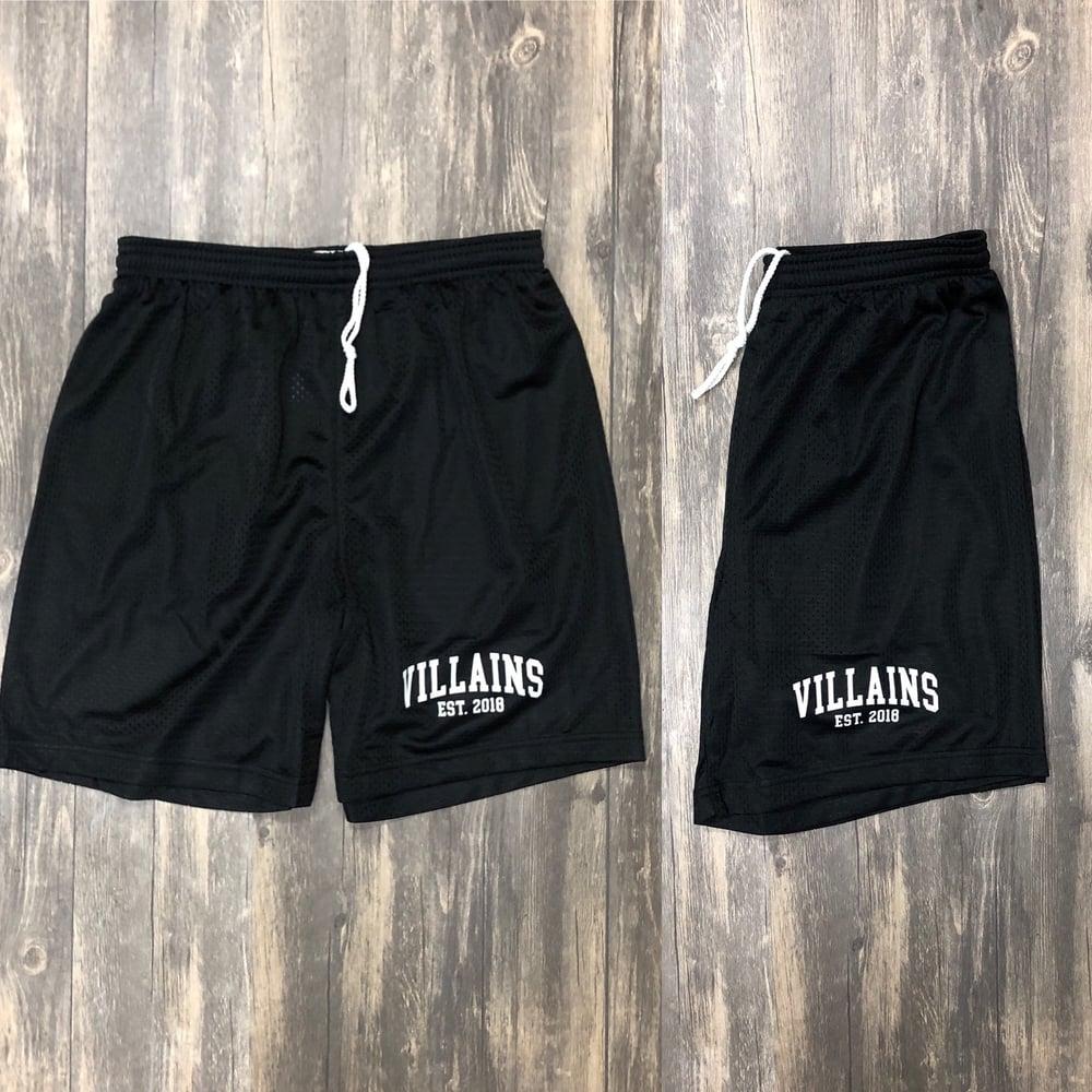 Image of VILLAINS EST athletic shorts