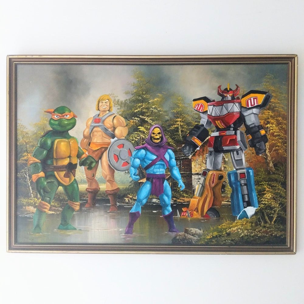 Image of NOSTALGIA 90 (20 limited edition Prints)