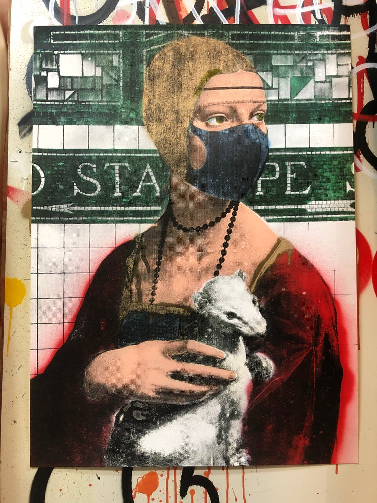 Image of Lady with an Ermine In Quarantine