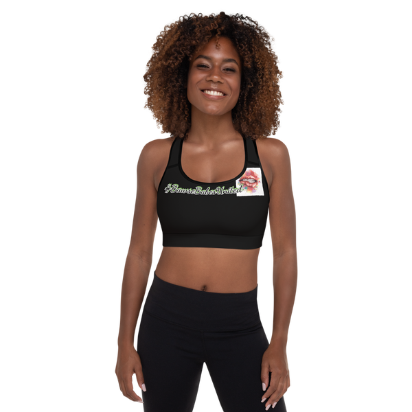 Image of #BBU💋 Padded Sports Bra-Black