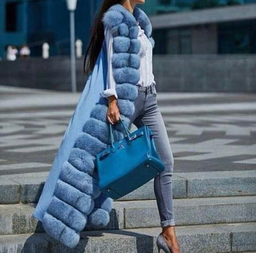 Image of Paris Fox Fur Vest