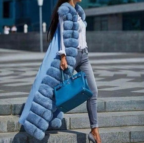 Image of Paris Fox Fur Vest