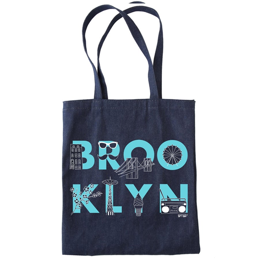 Image of Denim Tote