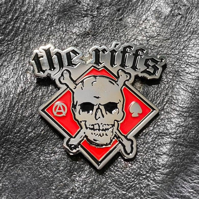 Image of THE RIFFS ENAMEL PIN