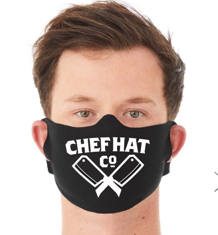 Image of ChefHatCo Logo Facemask