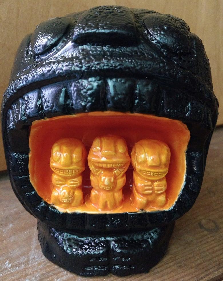 Image of Kannibal Mug - Black Lava Shine edition 1 of 1