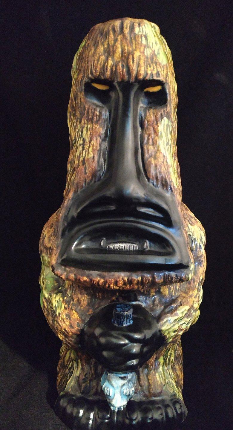 Image of Squatch Tiki Mug #30 Brown Moss