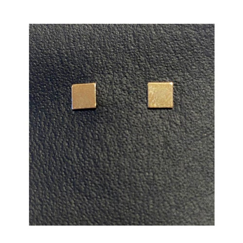 Image of Gold Filled Charm Geo Studs