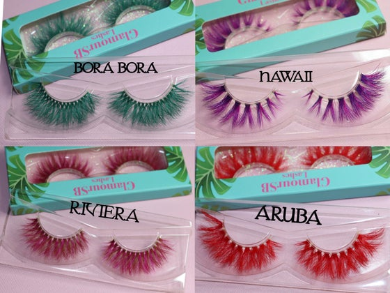 Image of TROPICAL COLLECTION 3D MINK LASHES