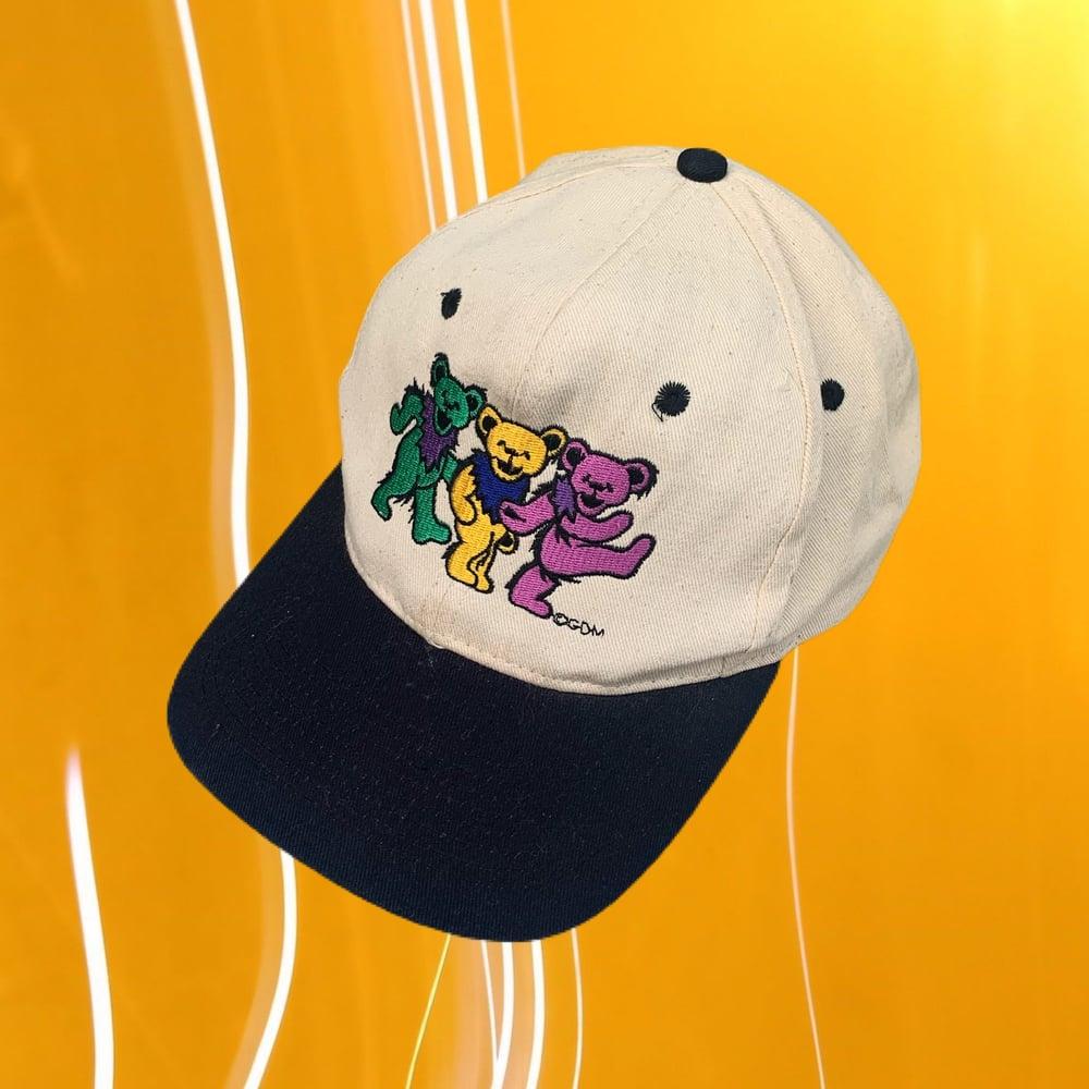 Image of Grateful Dead Original 1990's Vintage Bears Cap!!!