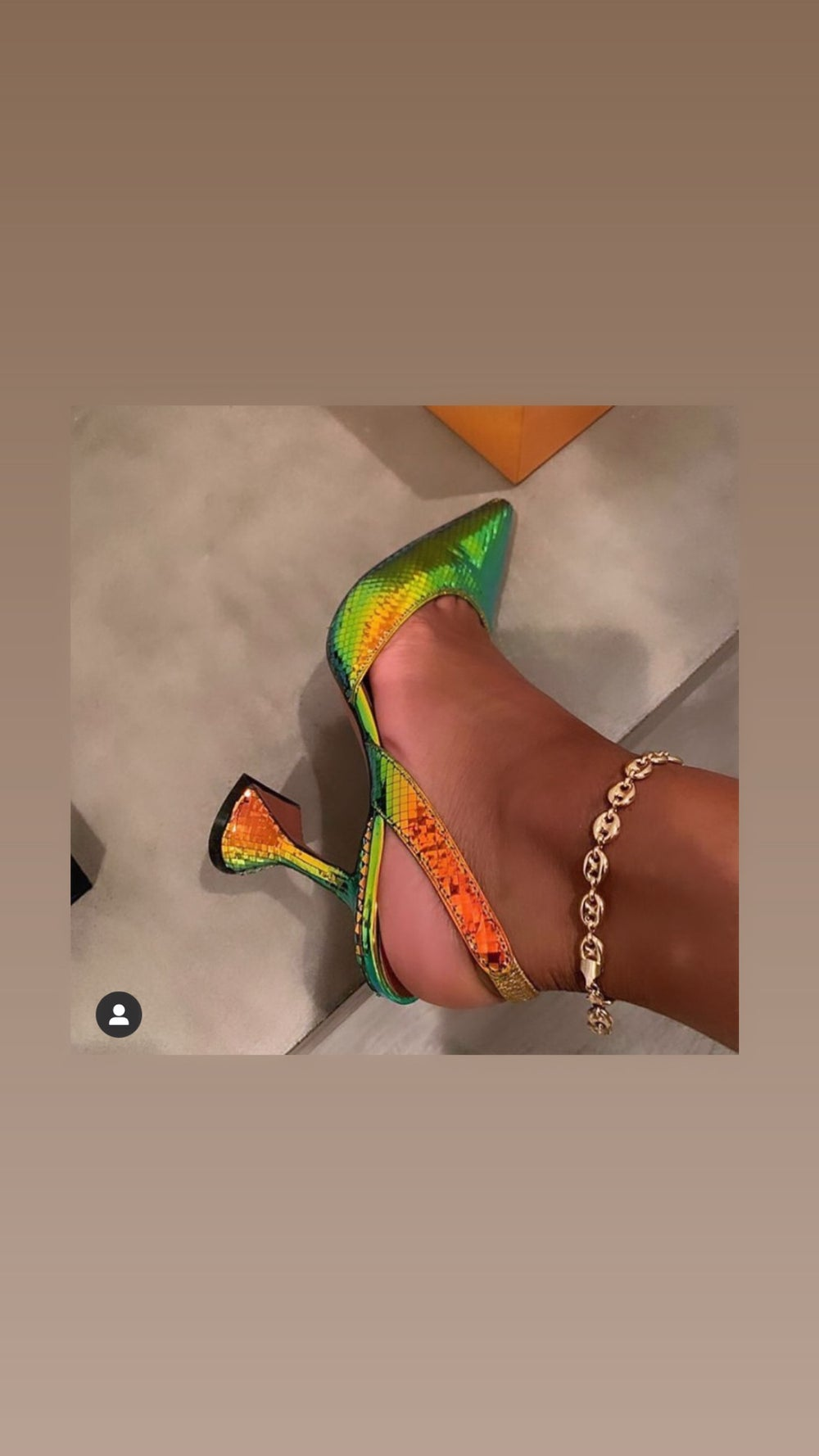 Miami anklet