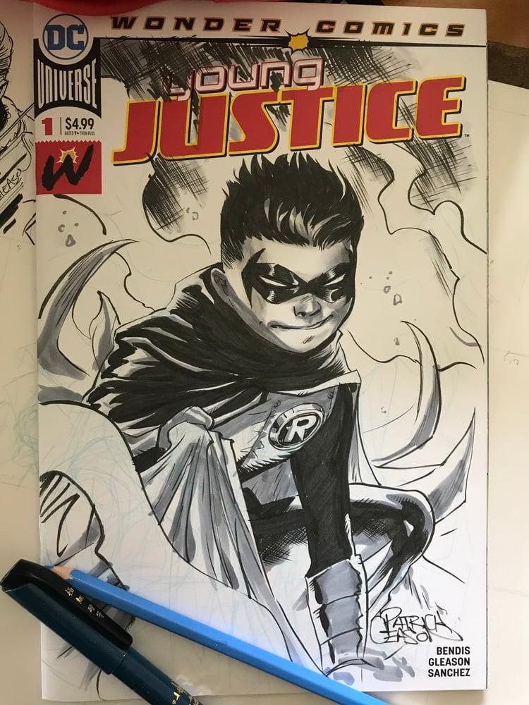 Image of Damian Wayne Robin