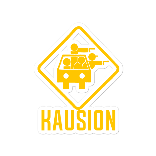 Image of Classic KAUSION Logo Sticker