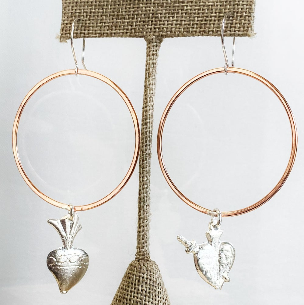 Image of Heart Milagro Hoops