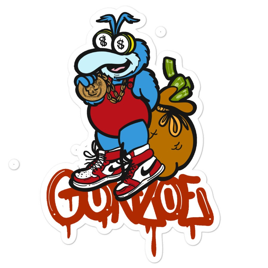 Image of Gonzoe Jordan Logo Sticker