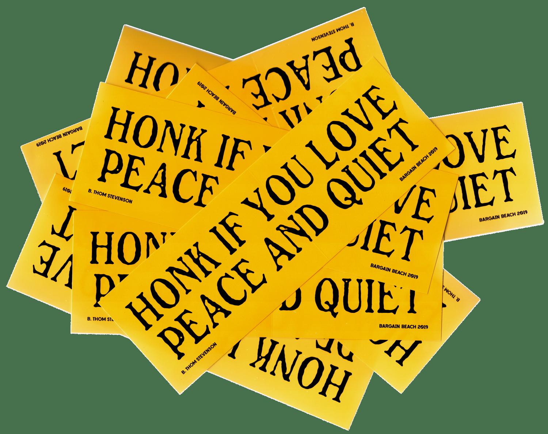 Image of B. Thom Stevenson Bumper Sticker