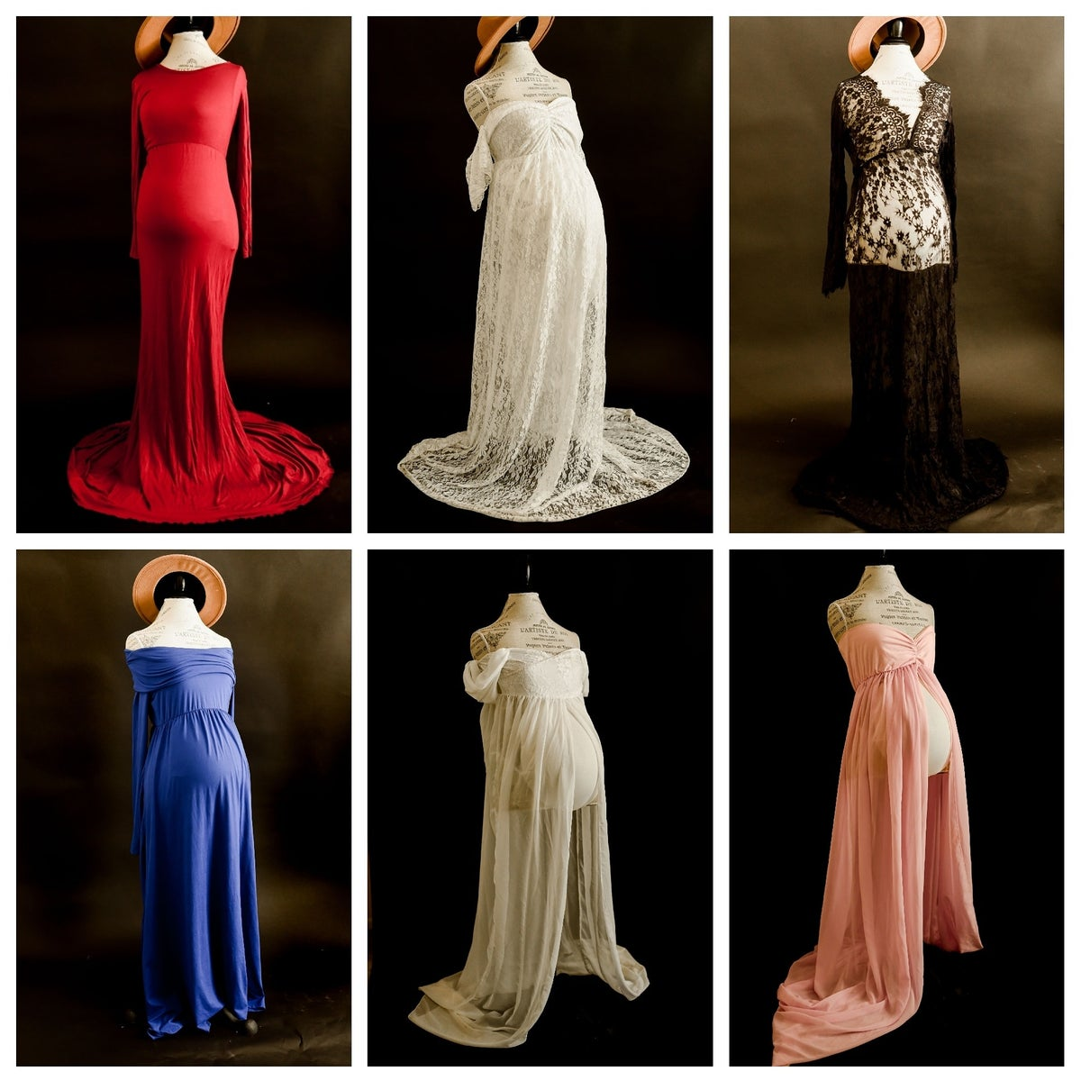 Image of GOWNS INCLUDED IN MATERNITY SESSIONS