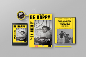 Image of BE HAPPY, F*CK ANXIETY  E-BOOK