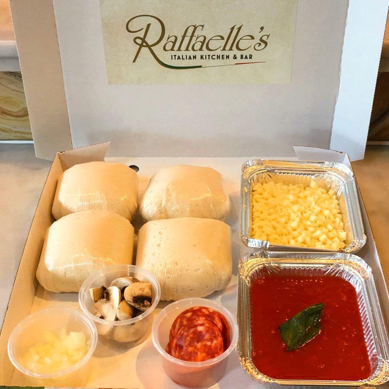 Image of Raffaelle's Pizza Dough it yourself kits.