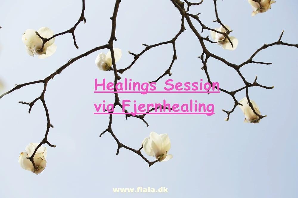 Healing session online - BETAL ikke direkte via siden tak