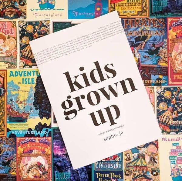 Image of 'Kids Grown Up' poetry book