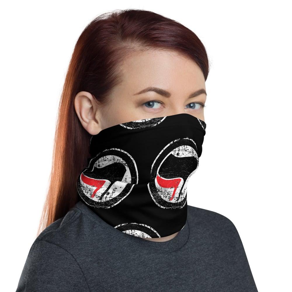 Image of Red Black Mask Gaiter