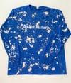 """Bleach Do Not Disturb Long Sleeve T Shirt """"True  Blue"""""""