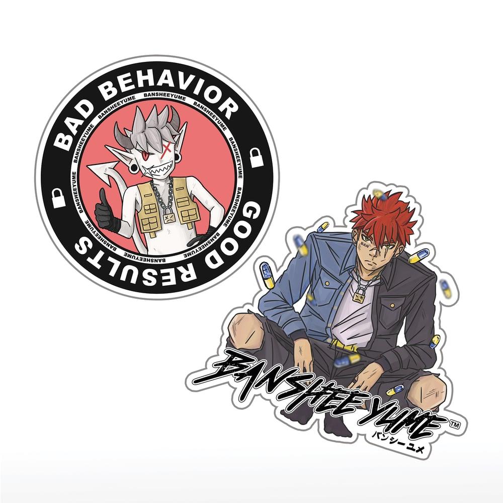 "Bansheeyume ""BBGR"" Sticker Pack"