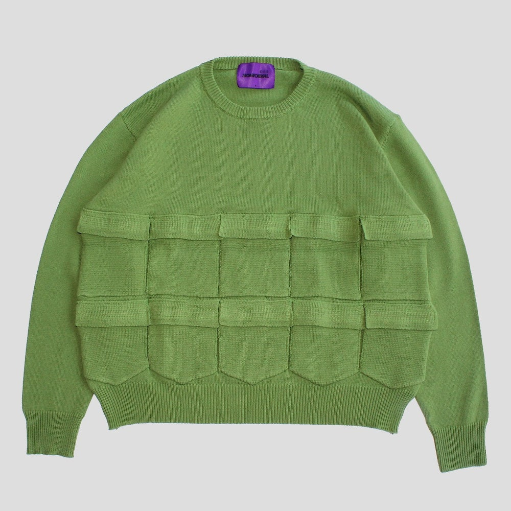 Image of 10 POCKET TANK SWEATER (FOREST)