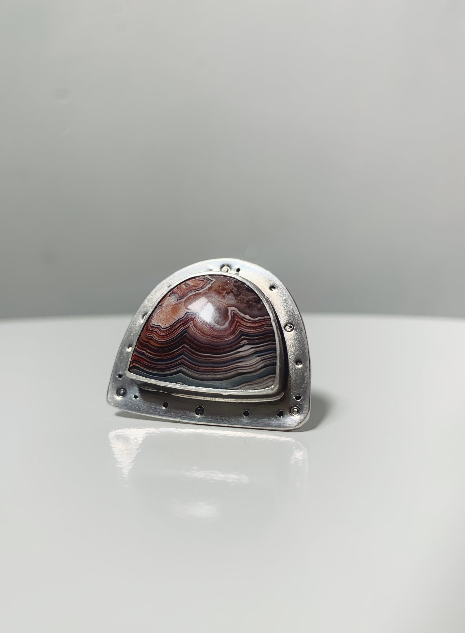 Image of Laguna Lace Agate Ring