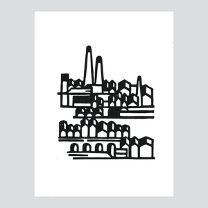 Usine / Linogravure