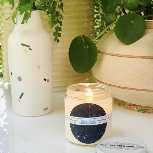 Image of We See Stars Hand Poured Candle: Kingsland