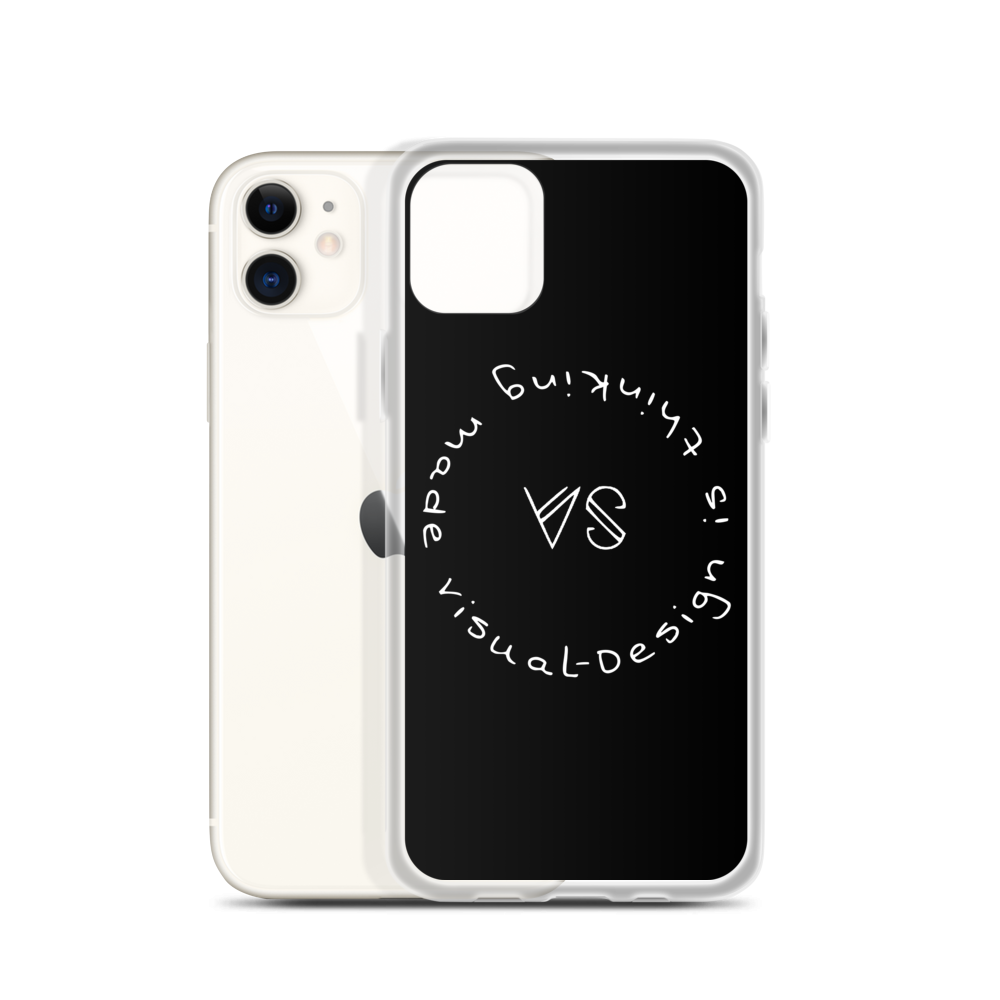 Image of VS iPhone Case with Philosophy Quote