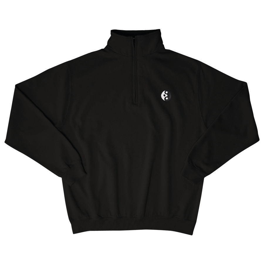 "Image of TAKEGOODCARE™ ""YINYANGISH"" QUARTER ZIP"